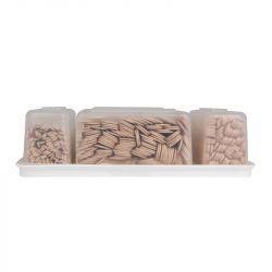 Sada dřevěných špachtlí na depilaci - Box 400 ks