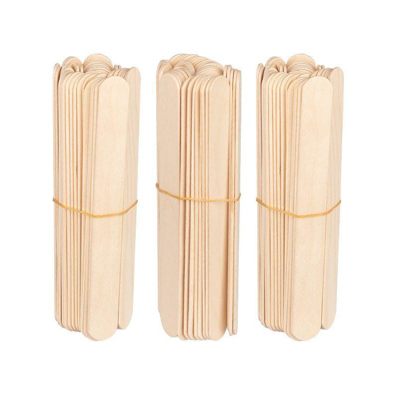 Dřevěná špachtle velká 150x18x1,8 mm - 150 ks