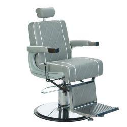 Barbers křeslo ODYS BH-31825M LUX šedé (BS)
