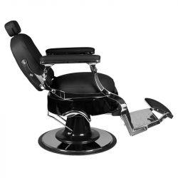 Barber křeslo VITO - černé