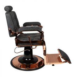 GABBIANO Barber křeslo BOSS HD (měď)  - černé