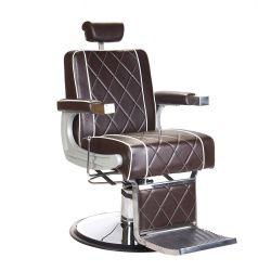 Barbers křeslo ODYS BH-31825M LUX hnědé