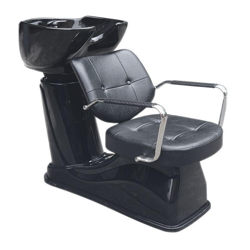 GABBIANO Kadeřnický mycí box VIGO - černý