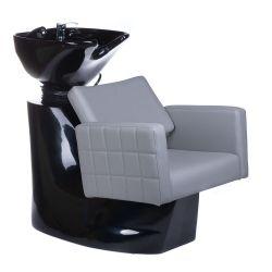 Kadeřnický mycí box Ernesto BM-32969 světle šedý