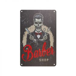 Plechová retro cedule Barbershop B081