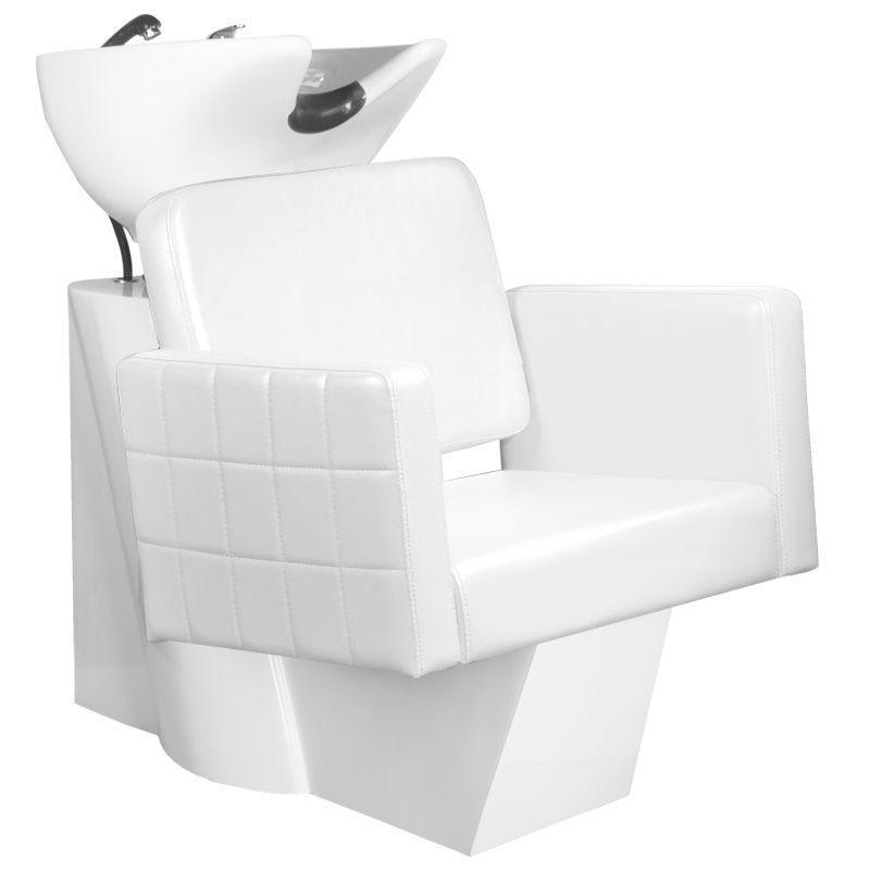 GABBIANO Kadeřnický mycí box ANKARA - bílý
