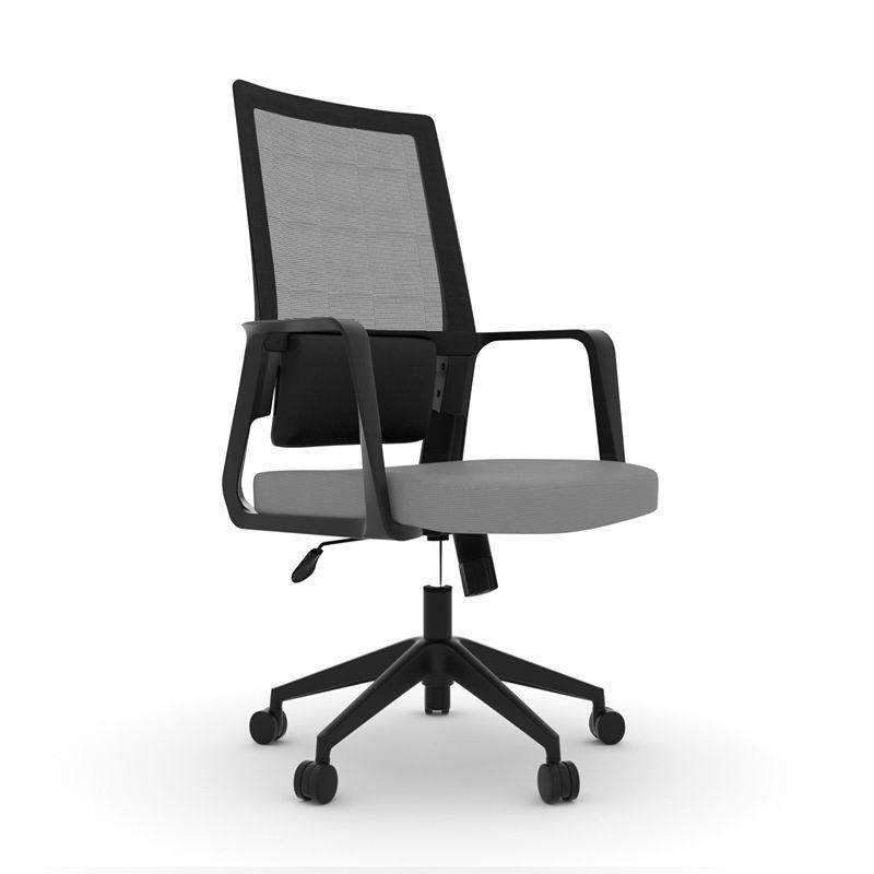 Kancelářská židle KOMFORT 10 - černo-šedá
