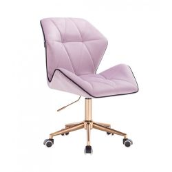 Kosmetická židle MILANO MAX VELUR