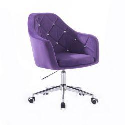 Kosmetická židle ROMA VELUR