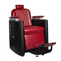 GABBIANO Barber křeslo BERNARDO - černo-červená
