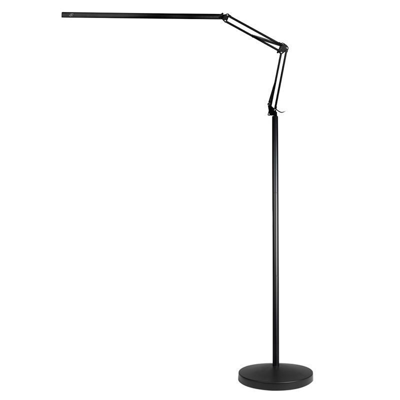 LED lampa Lashes Line 2 se stativem - černá