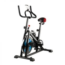 Rotoped spinningový s displejem MAGNETO 20 - černo-modrý