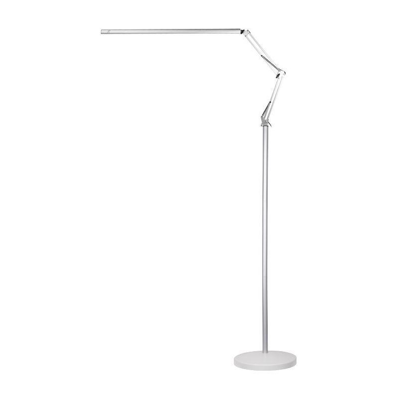 LED lampa Lashes Line 2 se stativem - stříbrná