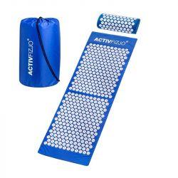 Akupresurní podložka s polštářkem - modrobílá (AS)