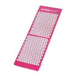 Akupresurní podložka s polštářkem - růžovobílá