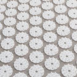 Akupresurní podložka s polštářkem - šedobílá