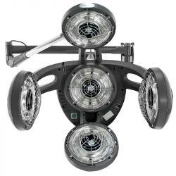 GABBIANO Infrazon závěsný na rameni GD-505W - šedý