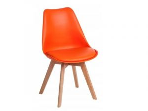 Jídelní židle Bali - oranžová