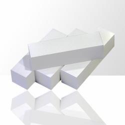 Leštící blok na nehty - bílý