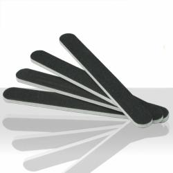 Pilník na nehty černý-rovný 100/180