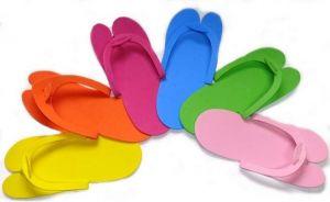 Jednorázové pantofle z polyethylenu (1pár)