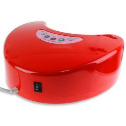 LED lampa na nehty 12W červená