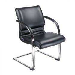 Konferenční židle / židle do čekárny BX-3339B černá