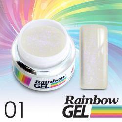 Uv gel na nehty Rainbow č.01
