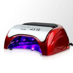 LED lampa na nehty 48W - červená