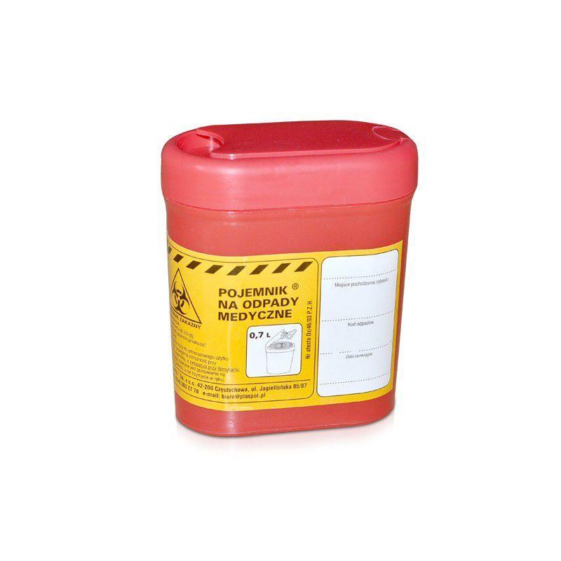 Nádoba na zdravotnický odpad 0,7 L (AS)