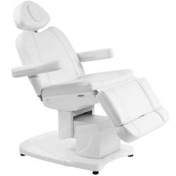 Elektrické kosmetické křeslo AZZURRO 708A bílé (AS)