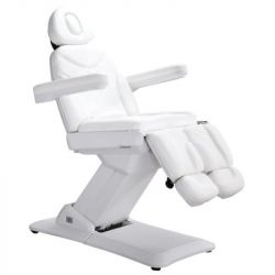 Elektrické kosmetické křeslo GIOVANNI MILANO PEDI - bílé (AS)