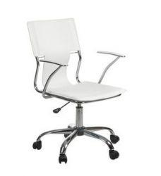Ergonomické kancelářské křeslo BX-2015 bílé (BS)