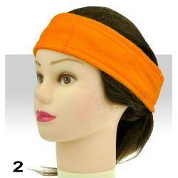 Froté čelenka - oranžová (A)