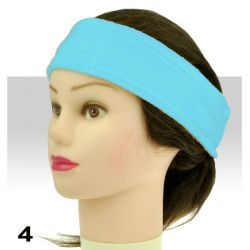 Froté čelenka - světle modrá (A)