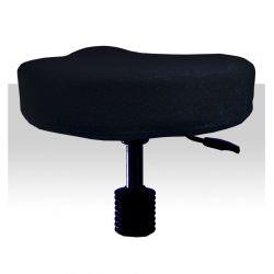 Froté potah kosmetickou židli - černý (A)