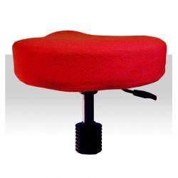 Froté potah kosmetickou židli - červený (A)