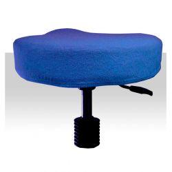 Froté potah kosmetickou židli - modrý (A)