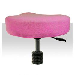 Froté potah kosmetickou židli - růžový (A)