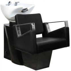 Kadeřnický mycí box GABBIANO WILNO černý (AS)