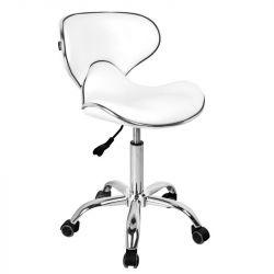 Kosmetický taburet GABBIANO Q-4599 bílý (AS)