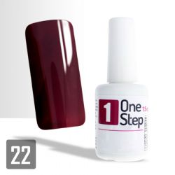 One Step gel UV/LED 3v1 bordó 15ml (A)