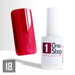 One Step gel UV/LED 3v1 karmínový 15ml (A)
