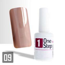 One Step gel UV/LED 3v1 ořechový 15ml (A)