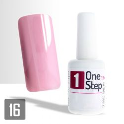 One Step gel UV/LED 3v1 světle růžový 15ml (A)