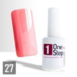One Step gel UV/LED 3v1 světle růžový 2 - 15ml (A)