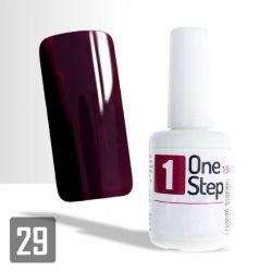 One Step gel UV/LED 3v1 tmavě vínový 15ml (A)