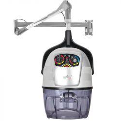 Vysoušecí helma k zavěšení GABBIANO DV-303W 3 rychlostní IONIC stříbrná  (AS)