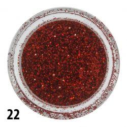Glitterový prach č. 22 - nádobka (A)
