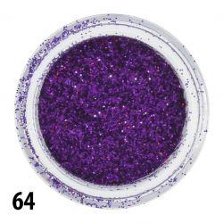 Glitterový prach č. 64 - nádobka (A)